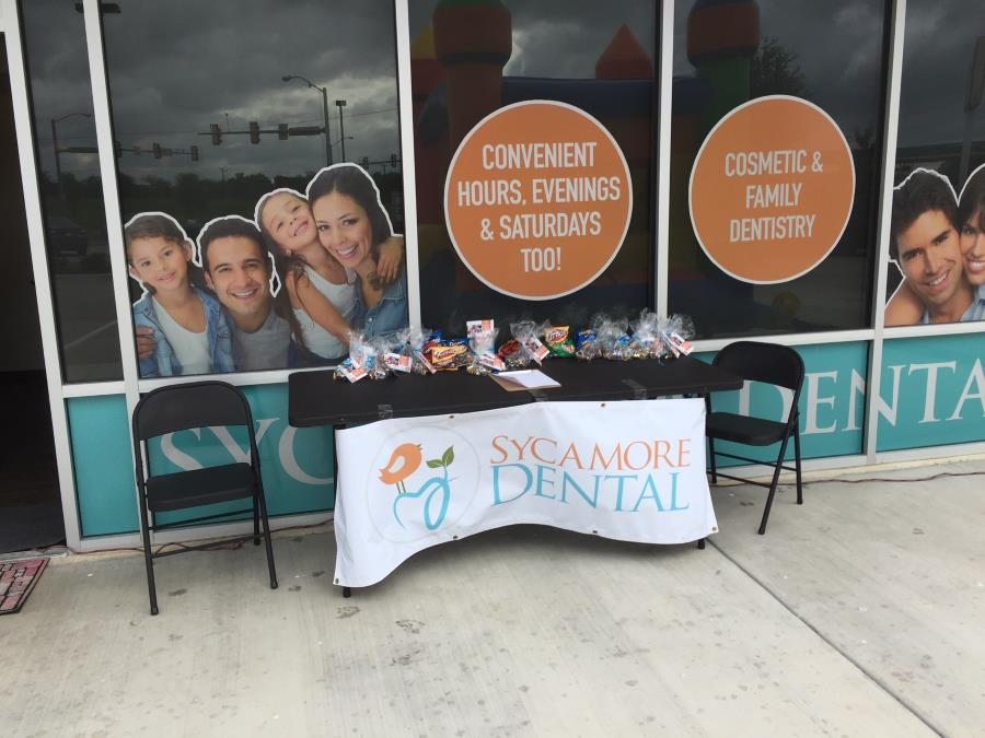 community program by Sycamore Dental in TX