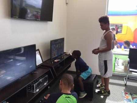 Play X-box Console games at Sycamore Dental in TX
